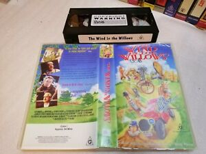 THE WIND IN THE WILLOWS - RARE FIND Australian Sell Through Vhs Issue UK COMEDY