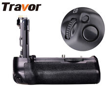 Travor Battery Grip Pack Holder For Canon EOS 70D 80D DSLR Camera As BG-E14
