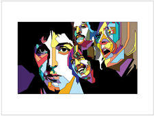 Beatles abstract Poster