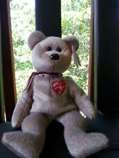 TY Beanie Bear 1999 Signature Bear Rare Errors Perfect Condition