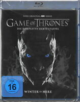 GAME OF THRONES Blu-ray 7.Staffel / Season 7 - Neu & OVP Deutsche FSK 16 Version