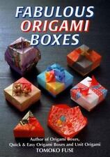 Fabulous Origami Boxes by Tomoko Fuse (1998, Paperback) New