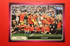 Panini EURO 2012 N. 539 ESPANA  NEW With BLACK BACK TOPMINT!!