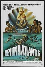 BEYOND ATLANTIS Movie POSTER 27x40 John Ashley Patrick Wayne George Nader