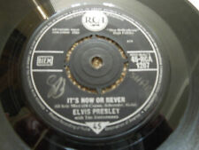 """Elvis Presley It's Now Or Never 7"""" Single RARE"""