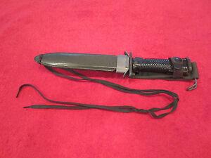 US South Korean Made M1-Garand K-M5A1 Bayonet DYW. W/Scabbard