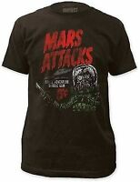 MARS ATTACKS SPACE ADVENTURE BUBBLE PUNK MUSIC BAND ROCK MENS TEE SHIRT S-2XL