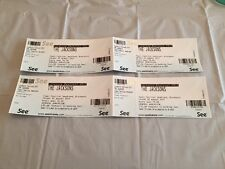 The Jackson's livewire festival Blackpool  tickets 2017 X 4  ( For Collectors )