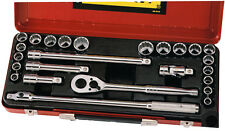 "Stanley 25pce Combo Socket Set 1/2"" Metric & A/F. #89.510"
