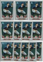 2014 Bowman Chrome Draft Michael Chavis (12) Card Lot Red Sox First Rookie RC
