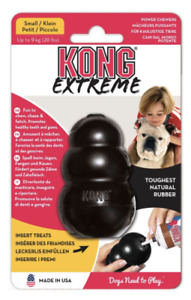 **NEW** KONG Genuine Extreme Rubber Dog Chew Toy (All Sizes) FREE DELIVERY