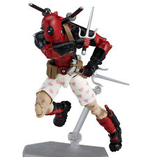 Crazy Toys Deadpool PVC Action Figure Collectible Model Toy 16cm red Movable