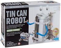 Toysmith 4M Tin Can Robot Kit Each