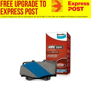 Bendix Front 4x4 Brake Pad Set DB388 4WD SUV fits Ford Spectron 1.8