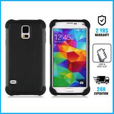 Samsung Galaxy S3 Hybrid Armor Cover Cas Coque Etui Silicone Hoesje Case Black