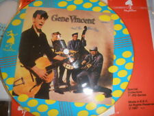 "Gene Vincent and the Blue Caps-Special Collectors 7"" 33-1/3 rpm -Pd Series -1987"