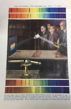 "Vintage Coloured Print Picture ""The Wonderful Spectroscope and What it Does"""