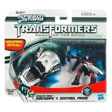 "Transformers Speed Stars Sideswipe & Sentinel Prime 2"" Action Figure New/Sealed"