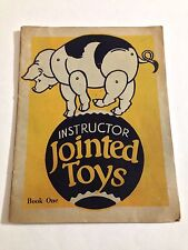 The Instructor Jointed Toys Book One Cut Out by Bess Bruce Cleveland 1920's