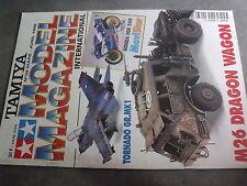 $$s Revue Tamiya Model Magazine N°38 Tornado GR MK1  Honda NSR 500  M26 Dragon