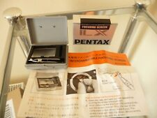 Boxed Vintage Pentax Focusing Screen With Case & Instruction Leaflet - Rare Item