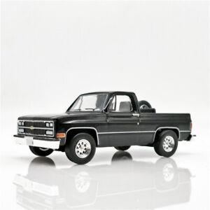 Greenlight 1:64 Chevrolet Blazer 1989 Black Diecast Model Car Loose