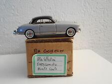 """""""MA COLLECTION"""" C BRIANZA FORD COMETE MONTE CARLO 1/43 résine vintage"""