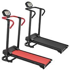 [in.tec] Manuell Laufband mit LCD-Display Fitnessgerät Klappbar Heimtrainer