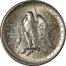 1935 Texas Commem Half Dollar PCGS MS65 Great Eye Appeal Strong Strike