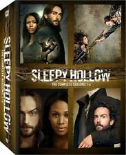 Sleepy Hollow The Complete Series(DVD,2017,Seasons 1-4,18-Disc Set)NEW 1 2 3 4