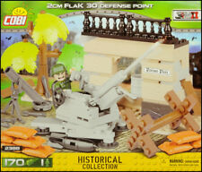 COBI 2 cm Flak 30 Defense Point (2388) - 170 elem. - WWII German AA gun scene