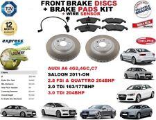 für Audi A6 Limousine 2011- Vorderbremse Scheibensatz +BREMSBELAGSATZ+