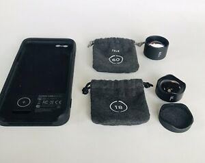 Moment Cell Phone Camera Lens Lot 18mm Wide 60mm Tele Lenses iPhone 6s 6s+ Case