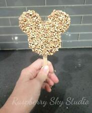 New Fake Mickey Mouse Chocolate Covered Ice Cream Bar with Nuts Food Prop Decor