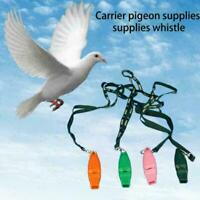Pigeon Training Whistle Portable Plastic Pet Bird Supplies 3-Colors G5I5 P0K3