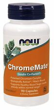 NOW Foods - ChromeMate Insulin Co-Factor - 90 Capsules