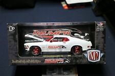 M2 Machines 1970 Ford Mustang Boss 429 White Thumpr 1:24 Chase Limited 500 Pcs