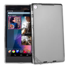 Ultra  Soft TPU Skin Case Back Cover for Google Nexus 7 1st. Asus Tablet, Clear