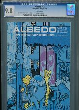 Albedo #13 CGC 9.8 (1988) Only 1 @ 9.8 Highest Grade Thoughts & Images White Pgs