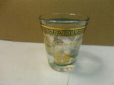 Seattle Washington Space Needle & Ye Olde Curiosity Shop Shot Glass (Used/EUC)