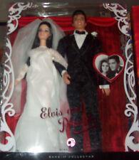 Elvis and Priscilla Barbie Doll Giftset MIB!!!