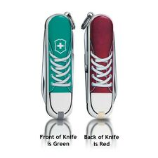 Victorinox Swiss Army Knife Classic SD Sneakers Turquoise Red 56120