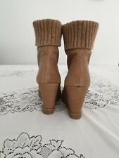 942f043283f Wedge Suede Ankle Boots for Women for sale | eBay