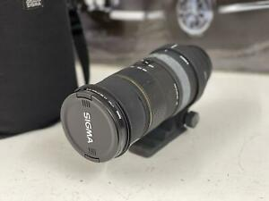 SIGMA EX AF 50-500mm f/4-6.3 APO HSM FOR CANON MOUNT