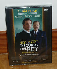 EL DISCURSO DEL REY-THE KING´S SPEECH-DVD-PRECINTADO-NEW-SEALED-HISTORICO-DRAMA