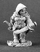 1 x BAILEY SILBERBELL dwarf - DARK HEAVEN LEGENDS REAPER miniature jdr rpg 03125