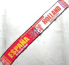 BUFANDA ESPAÑA – HOLANDA FINAL WORLD CUP 2010 SPAIN HOLLAND OLD SCARF SCARV