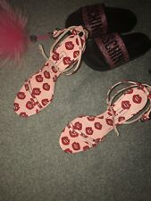 Zara Lips Sandals Shoes Sexy Pink Sold Out Rare 4 37 Fashionista