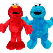 NEW Sesame Street Large Elmo and Cookie Monster Soft Plush Toys 38cm