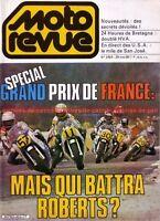 MOTO REVUE 2464 HONDA CX 500 CB 250 RS 650 C 750 F KAWASAKI Z GP de France 1980